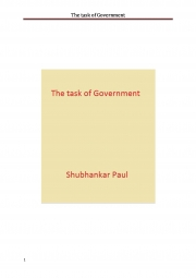 The task of Government (eBook)
