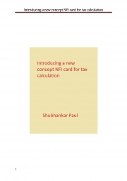 Introducing a new concept NFI card for tax calculation (eBook)