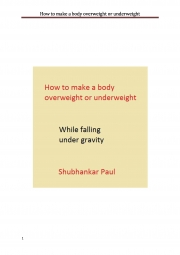 How to make a body overweight or underweight (eBook)