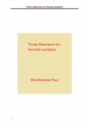 Three theorems on Fermat numbers (eBook)