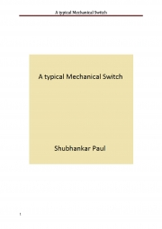 A typical Mechanical Switch (eBook)