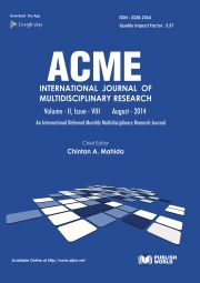 Acme International Research Journal  (August - 2014)
