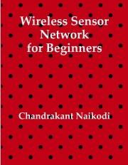 Wireless Sensor Network for Beginners