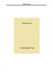Abstraction (eBook)