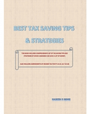 BEST TAX SAVING TIPS & STRATEGIES (eBook)