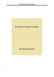 On Euler's totient function (eBook)