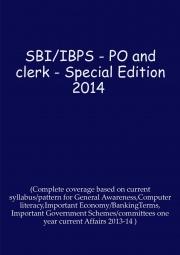 SBI/IBPS-2014 Exams Special