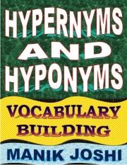 Hypernyms and Hyponyms (eBook)