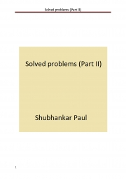 Solved problems (Part II) (eBook)