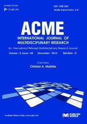 Acme International Journal  (Dec - 2014)  (Section - II)