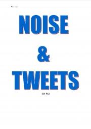 NOISE & TWEETS (eBook)
