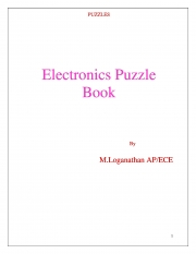 Basic Electronics Puzzle (eBook)