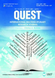 Quest Research Journal  March - 2015