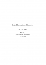 LOGICAL FOUNDATIONS of GEOMETRY (eBook)