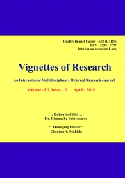 Vignettes of Research  April - 2015
