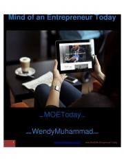 Mind of An Entrepreneur Today (eBook)