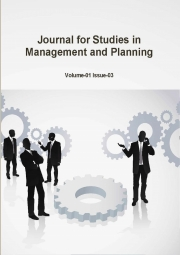 Journal for Studies in Management and Planning, April 2015 Part-1