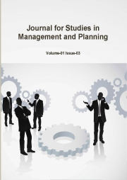 Journal for Studies in Management and Planning, April 2015 Part-2