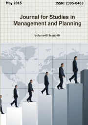 Journal for Studies in Management and Planning, May 2015 Part-2