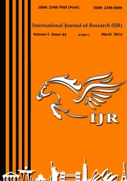 International Journal of Research March 2014