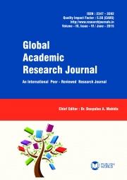 Global Academic Research Journal (June - 2015)