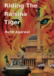 Riding The Raisina Tiger (Hard Cover)