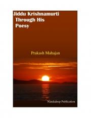 Jiddu Krishnamurti Through His Poesy (eBook)