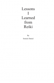 Lessons I learned from Reiki (eBook)