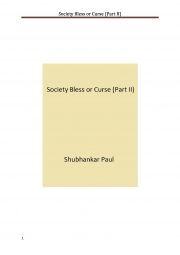 Society Bless or Curse (Part II) (eBook)