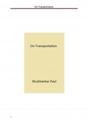 On Transportation (eBook)