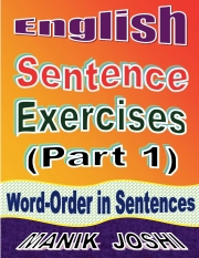 English Sentence Exercises: Word-Order In Sentences (eBook)