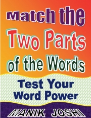 Match the Two Parts of the Words: Test Your Word Power (eBook)