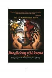 Man, the king of his karma (eBook)