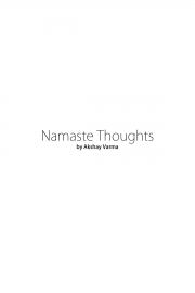 Namaste Thoughts (Volume One) (eBook)