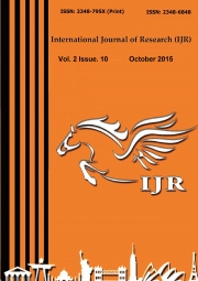 International Journal of Research October 2015
