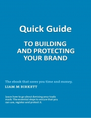 Quick Guide To Building And Protecting Your Brand (eBook)