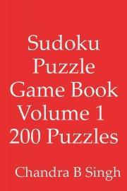 Sudoku Puzzle Game Book Volume 1