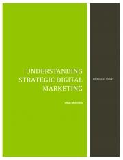 Understanding Strategic Digital Marketing (eBook)