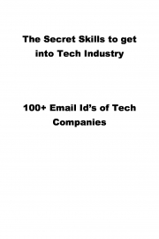 The Secret Skills to get into Tech Industry (eBook)