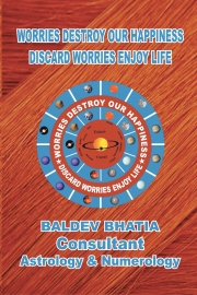BE POSITIVE BE HAPPY-DISCARD WORRIES ENJOY LIFE