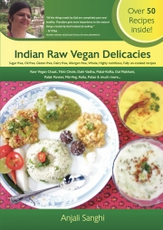 Indian Raw Vegan Main-course Delicacies