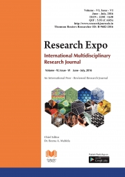Research Expo [ June - July, 2016] : Final Issue