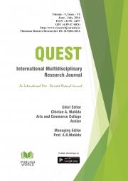 Quest International Research Journal [ June - July, 2016]