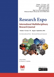 Research Expo (Vol - VI, Issue - VII)  (Glossy and Colour Version)