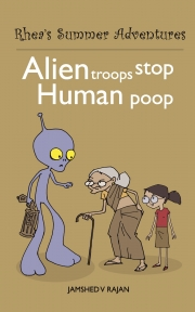 Alien Troops Stop Human Poop