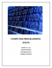 COMPUTER PROGRAMMING (eBook)