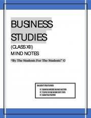 BUSINESS STUDIES CLASS XII (eBook)