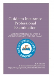 Guide To Insurance Professonal Examination (eBook)