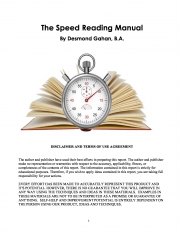The Speed Reading Manual (eBook)
