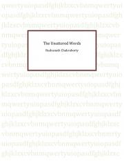 The Unuttered Words (eBook)